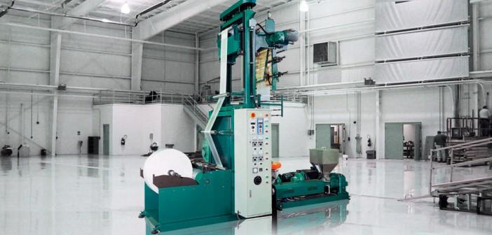 Extrusora de film de alta densidad HDPE