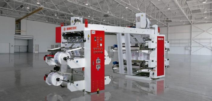 Impresora flexográfica de 4 o 6 colores